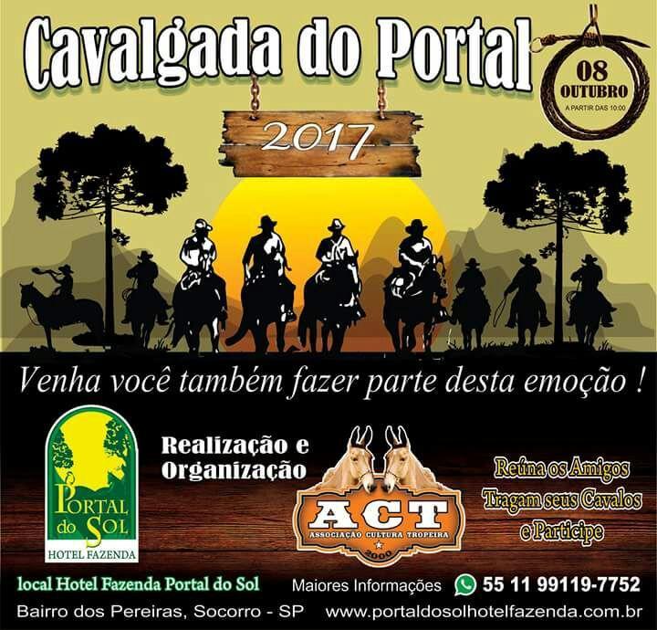 Cavalgada do Portal do Sol – participe com a gente!